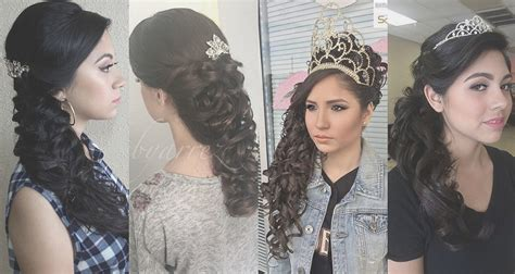 15 Anos Hairstyles by Modern Quinceanera Hairstyle Ideas That Slay