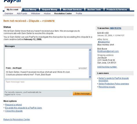 ebay dispute thejang net work sles