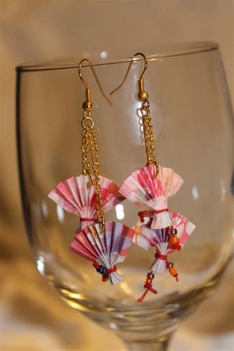 Origami Earring - 17 best images about origami mostly jewelry on