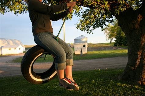 tire swing tire swing minnesota prairie roots