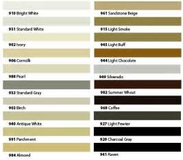 np1 color chart 4 best images of silicone sealant color chart silicone
