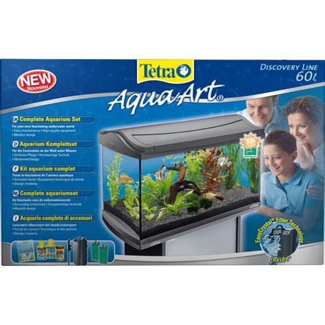 Aquarium 60 Liter 109 by Tetra Aquaart Aquarium Komplett Set 60 Liter Anthrazit