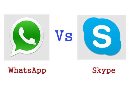 better than skype skype vs whatsapp which one is better