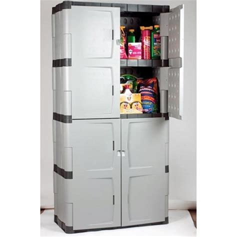 rubbermaid storage cabinet with doors storage designs