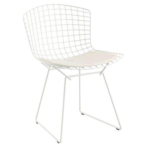 chaise bertoia knoll chaise bertoia blanc lot de 4 knoll pas cher grandes