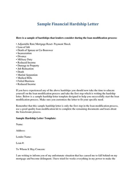 Financial Hardship Letter For Immigration Fee Waiver exles of hardship letters for immigration cover letter exle