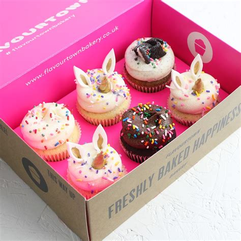 Box Cupcakes unicorn cupcake box cupcakes