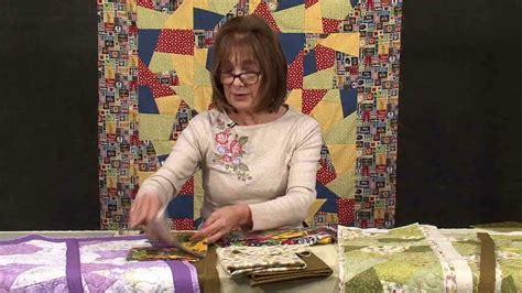 Quilt Tv Shows by Patchwork Quilt As You Go Technique With Valerie