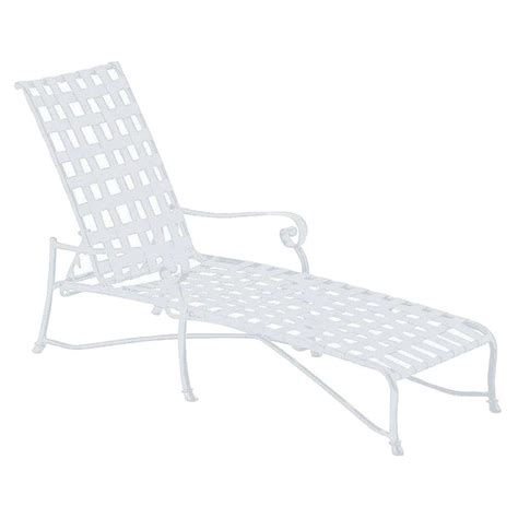 white outdoor chaise lounge tradewinds vallero crossweave contract white patio chaise