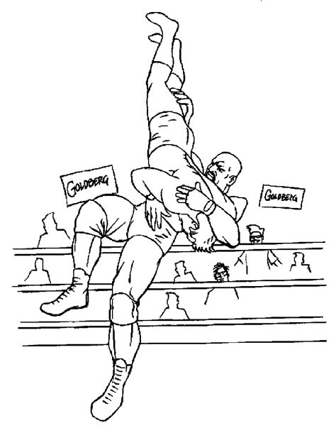 Wrestling Coloring Page Az Coloring Pages Wrestler Coloring Pages