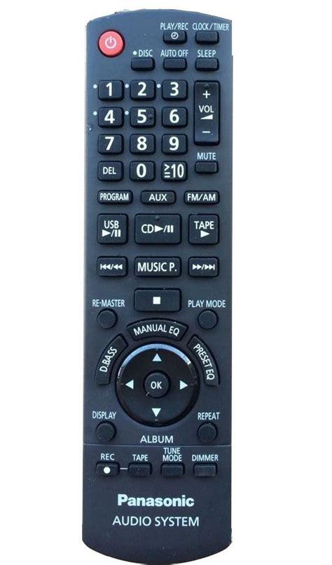 Remote Dvd Panasonic N2qahc000021 Original n2q4yb000387 panasonic original remote we offer