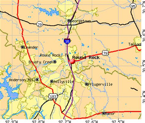 map rock texas rock texas map my
