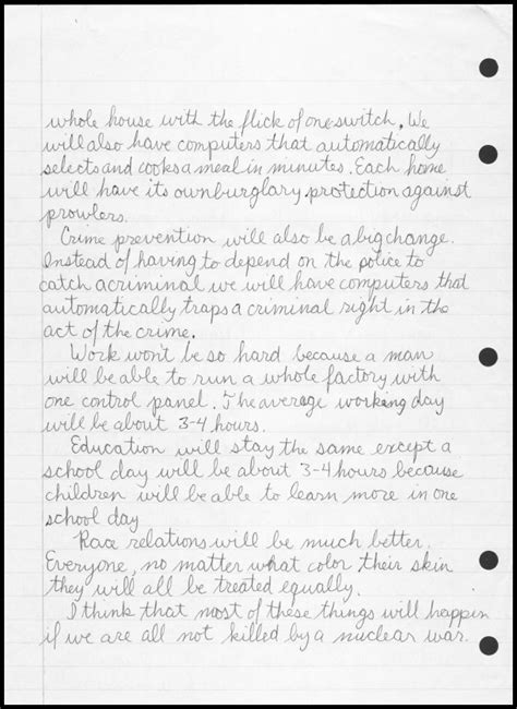 Time Capsule Essay by Time Capsule Essay