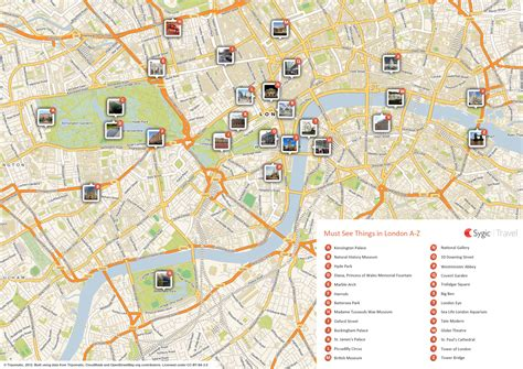 tourist attractions map map of attractions tripomatic