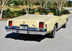 1977 Chrysler Cordoba For Sale 1977 Chrysler Cordoba Convertible For Sale 5 For Sale