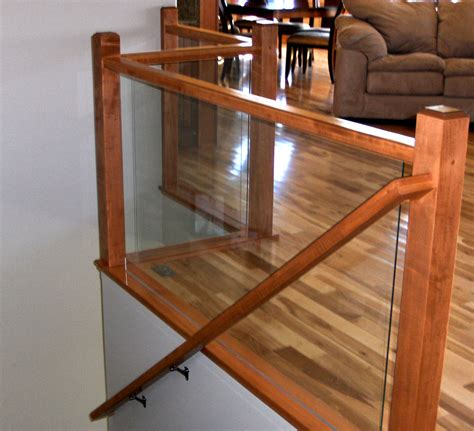 Interior Railing Systems by Ford Metro Glass Deck Railing Interior Railing And Glass Rails Rochester Mn Glass