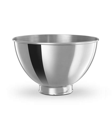 metal bowls 3 qt polished stainless steel bowl kb3ss other kitchenaid