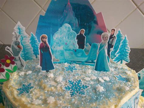 frozen princess castle cake edible decorations party ideas girls birthday cake ebay