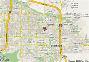 map of fairfield inn scottsdale scottsdale
