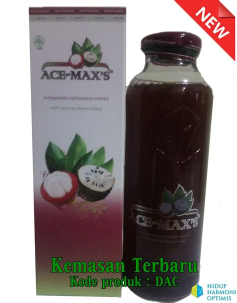 Acemax Original Ace Max Ekstrak Kulit Manggis Daun Sirsak 94 jual promo ace max s ekstrak daun sirsak dan ekstrak kulit
