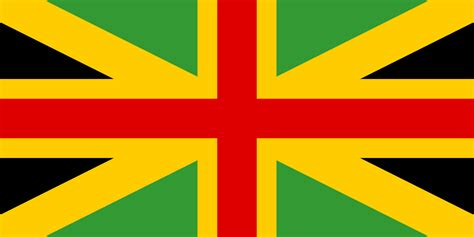 jamaica flag color file anglo jamaican flag svg wikimedia commons