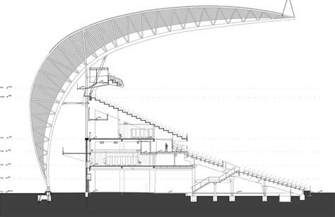 Electrical Floor Plan by Hype Studio Revamps Beira Rio Stadium In Porto Alegre For
