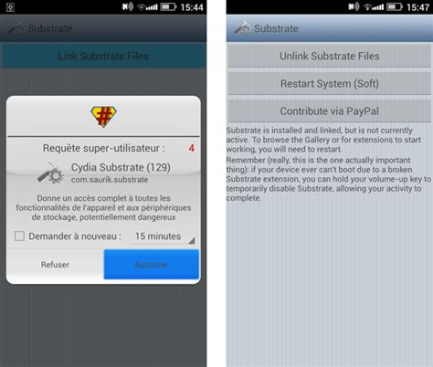 cydia android comment installer cydia substrate sur android androidpit