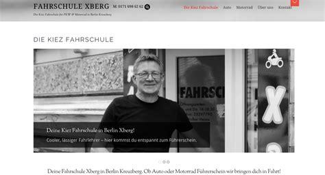 Motorrad Fahrschule Berlin Kreuzberg by Gestaltung Einer Responsiven Website F 252 R Fahrschule Xberg