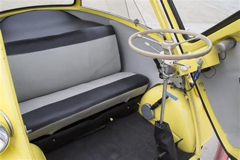 Isetta Interior by 1958 Bmw Isetta 300 Heacock Classic Insurance