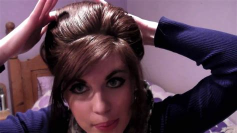 hairstyles of the 60s youtube hairstyles tutorial for long hair bouffant youtube