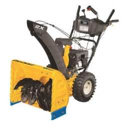 cub cadet 24 in two stage electric start gas snow blower