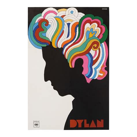 vintage bob dylan milton glaser poster album