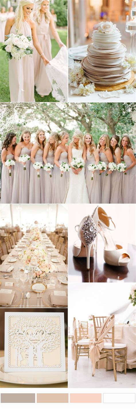wedding colors top 10 and chic rustic wedding color ideas