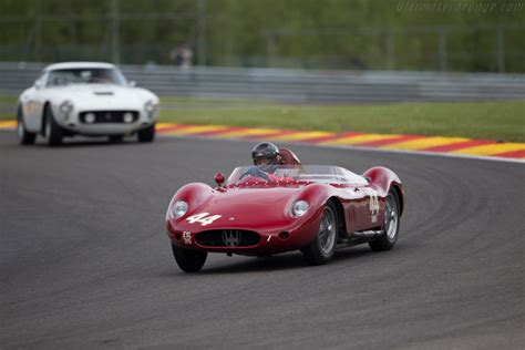 maserati 250s maserati 250s chassis 2432 driver richard wilson