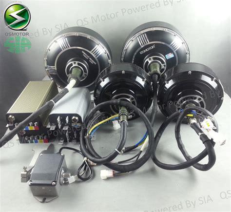hub motor kit 96v 125kph electric car conversion kits 2x8000w hub motor