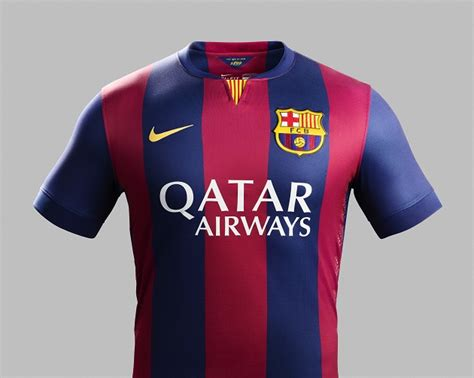 nike shows 2014 15 barcelona home jersey the center