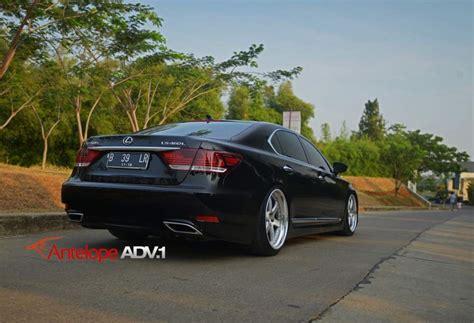 lexus ls custom lexus ls 460 custom wheels adv 1 6tf 21x9 5 et tire