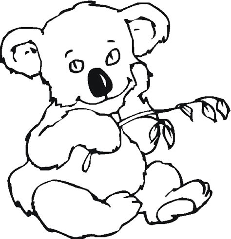 australian animal coloring sheets coloring pages
