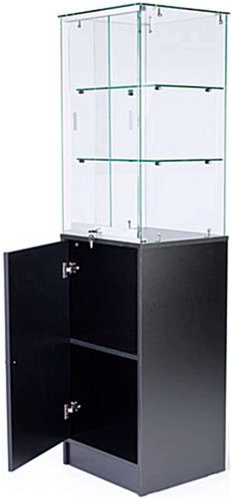 Frameless Glass Cabinet Doors This Museum Display Cabinet Ships Out Immediately When In Stock A Showcase Of This Caliber