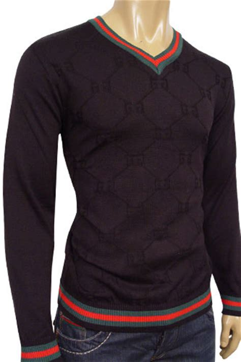 Baju Sweater Gucci Branded Murah Fit Xl mens designer clothes gucci mens v neck fitted sweater 20