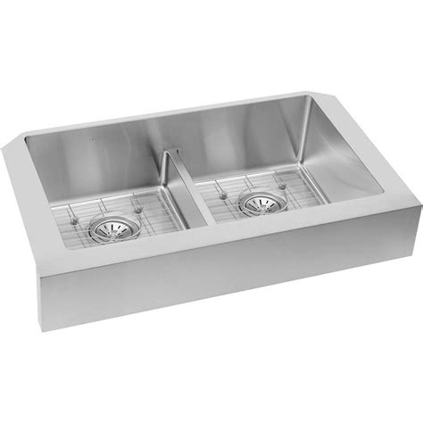 elkay crosstown apron sink newage products stainless steel classic 32 in sink