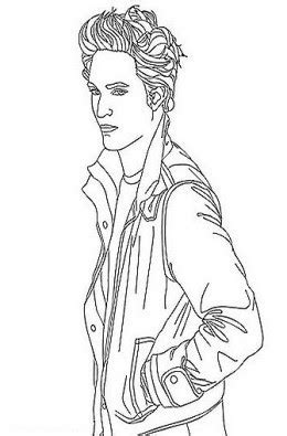 Coloring Pages Of The Twilight Saga, Breaking Dawn Part I