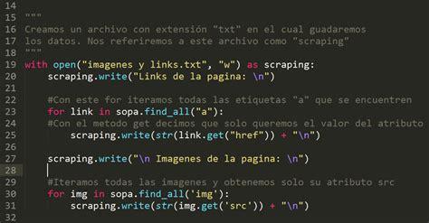 web scraping con python underc0de web scraping extrayendo informaci 243 n de paginas webs mi