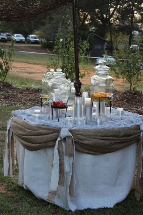 backyard wedding setup ideas outdoor wedding reception drink set up wedding food drink ideas