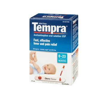 Tempra Drop 15 Ml infant drops 80 mg 1 ml 15 ml cherry tempra acetaminophen for children jean coutu