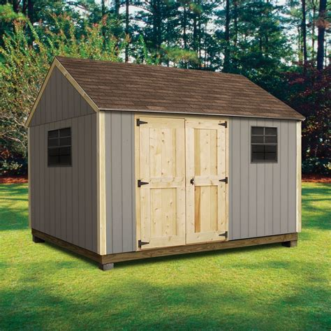 Kmart Storage Sheds by Quality Outdoor Structures T0812sc Smart Siding Cottage 8