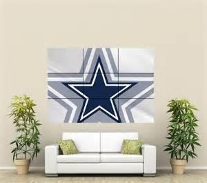 Dallas Cowboys Wall Decor by Dallas Cowboys Xl Section Wall Poster Nfl111 Ebay