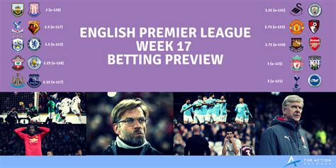 epl week 17 sports betting blog sports insights