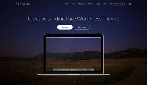 blog theme landing page 40 best landing page wordpress themes for apps products