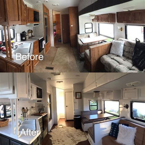 Rv Ideas Renovations | 25 best ideas about rv remodeling on pinterest cer